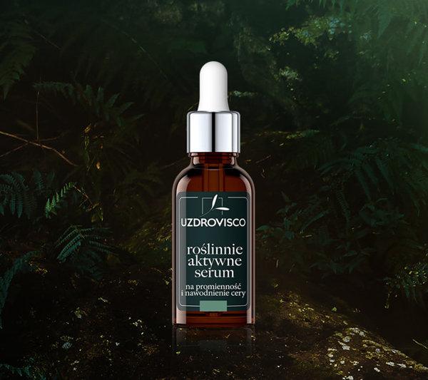 Roślinnie aktywne serum na promienność i nawodnienie cery - rokitnik (30 ml)